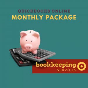 Quickbooks Online Monthly Bookkeeping Service Package