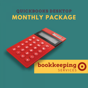 Quickbooks Desktop Monthly Bookkeeping Package